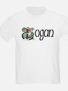 Logan Celtic Dragon Kids T-Shirt