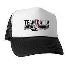 TEAM CALLA Survivor Support Custom Trucker Hat