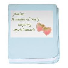 Autism Awareness & Love baby blanket