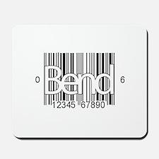 Bend Barcode Mousepad
