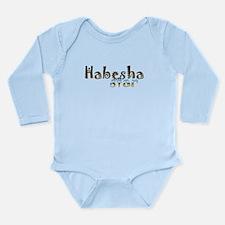 Cute Mens shorts Long Sleeve Infant Bodysuit