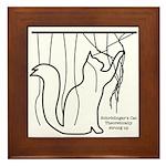 The Geeks Cat's Framed Tile