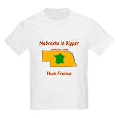 Nebraska is Bigger than France T-Shirt
