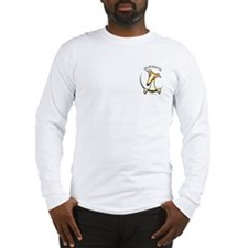 Fawn Greyhound IAAM Pocket Long Sleeve T-Shirt