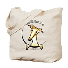 Fawn Greyhound IAAM Tote Bag