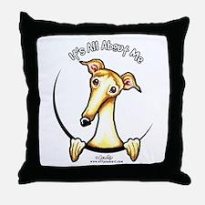 Fawn Greyhound IAAM Throw Pillow