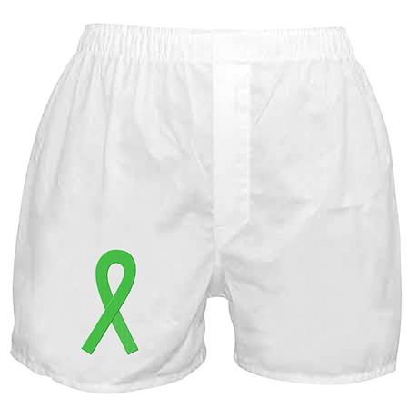 Lime Ribbon Boxer Shorts