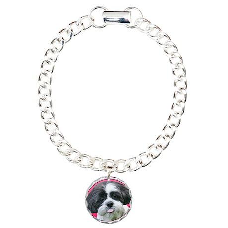 Funny Shih Tzu Charm Bracelet, One Charm