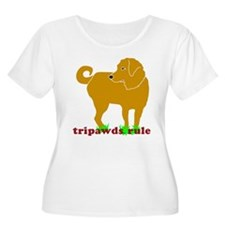 Golden Tripawds Rule T-Shirt
