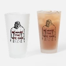 Beware Ape Drinking Glass