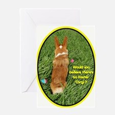 Easter Corgi Greeting Card
