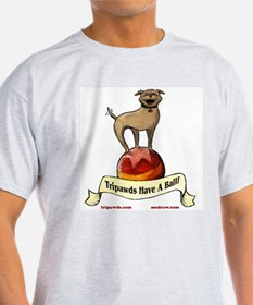 1-Sided Tripawds Have A Ball T-Shirt