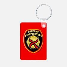 ThinRedLine SupportFirefighte Keychains
