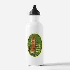 Corgi Bunny Butts Water Bottle