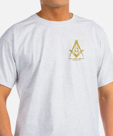 Palmer Lodge Ash Grey T-Shirt