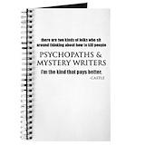 Mystery writer Journals & Spiral Notebooks