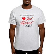 Funny 2013 wedding T-Shirt