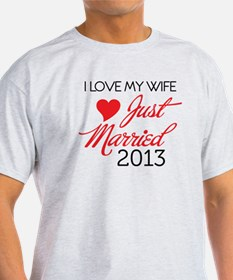 Funny 2013 wedding T-Shirt