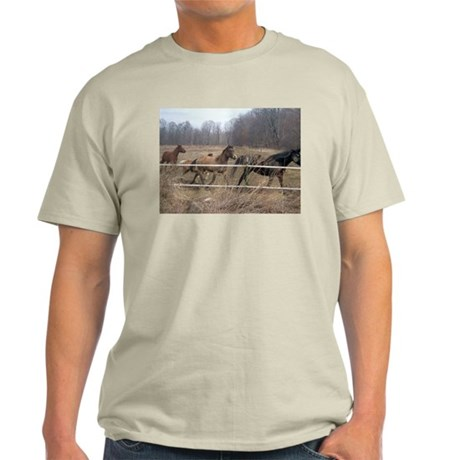 Hagan's Horses Ash Grey T-Shirt