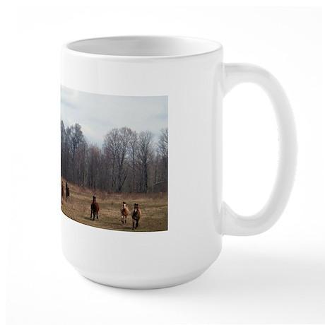 Hagan's Horses Large Mug