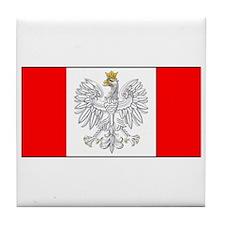 Polish Canadian Tile Coaster