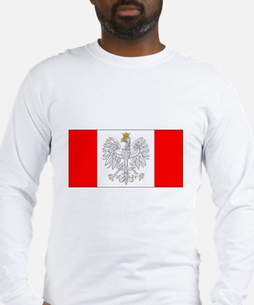Polish Canadian Long Sleeve T-Shirt