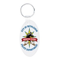 """SUPPORTER"" Oval Keychain"