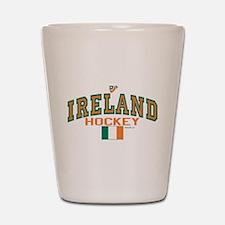 IE Ireland(Eire/Erin)Hockey Shot Glass