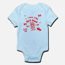 I Love You This Much Infant Bodysuit