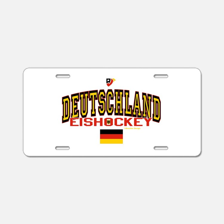 DE Germany Hockey Deutschland Aluminum License Pla