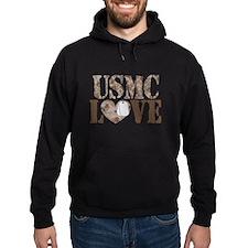 USMC Love Hoody
