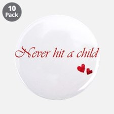 "Child Abuse Awareness & Love 3.5"" Button"