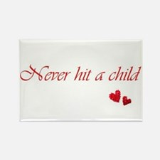 Child Abuse Awareness & Love Rectangle Magnet