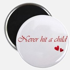 "Child Abuse Awareness & Love 2.25"" Magnet"