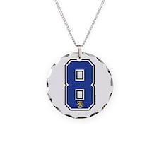 FI Finland Suomi Hockey 8 Necklace