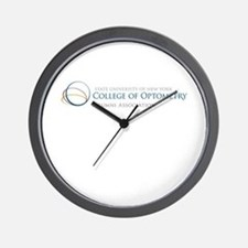 Funny College of optometry Wall Clock