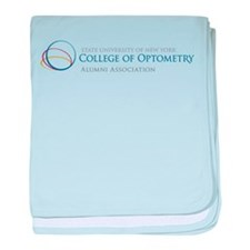Cute Colleges logo baby blanket