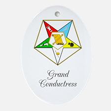 Grand Conductress Ornament (Oval)