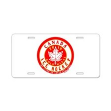 CA Canada Hockey Gold Medal Aluminum License Plate