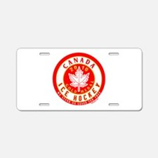 CA Canada Hockey Gold Medal Aluminum License Plate