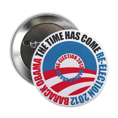 "Obama Re-Election 2012 2.25"" Button"