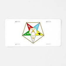 Grand Secretary Aluminum License Plate