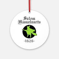 Salem Massachusetts Ornament (Round)