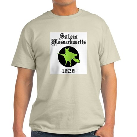 Salem Massachusetts Ash Grey T-Shirt