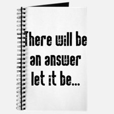 There will be an Answer Journal