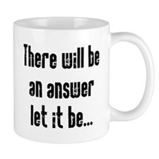 There will be an Answer Small Mug