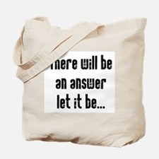 There will be an Answer Tote Bag
