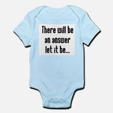 There will be an Answer Infant Bodysuit