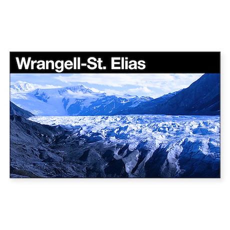 Wrangell-St. Elias NP Rectangle Sticker