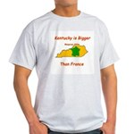 Kentucky is Bigger than France Light T-Shirt